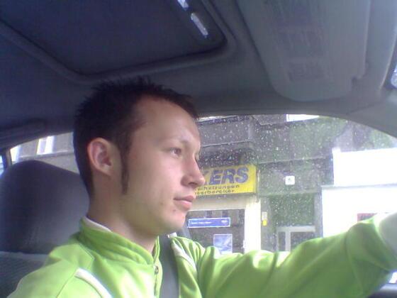 Ich beim Fahren.....