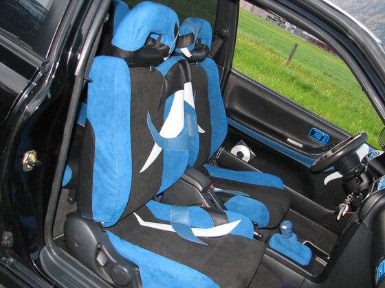 Sunny GTI Sitze