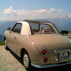 Mit dem Figaro in den Bergen