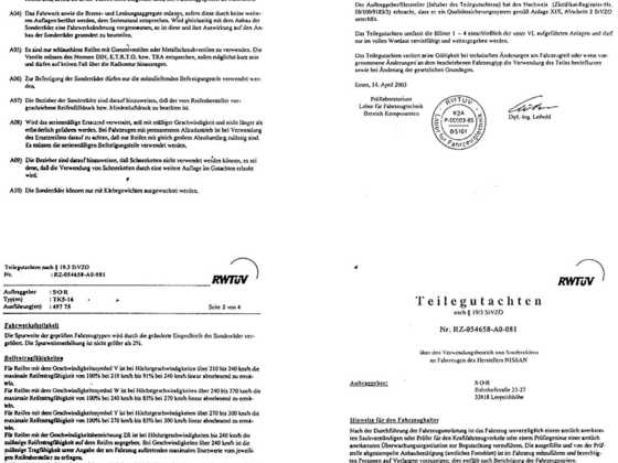 Teilegutachten-Felge-TK5-16 Mille Miglia Felge
