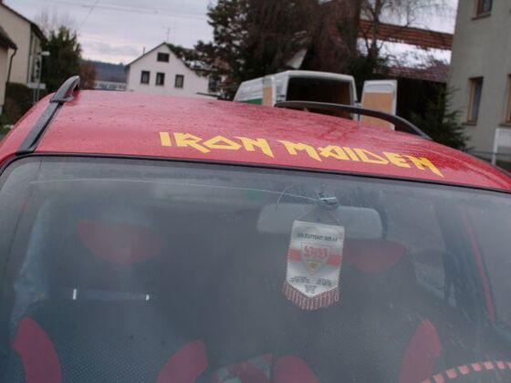 Iron Maiden Schriftzug
