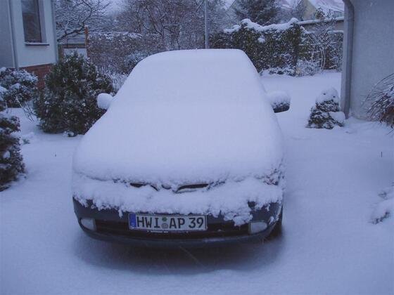 sein letzter Schnee