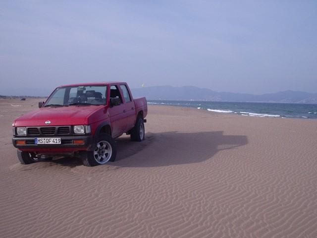 Im großen Sandkasten -Nordspanien