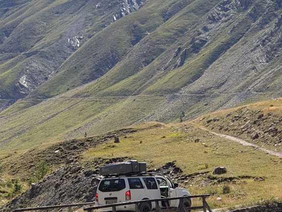 südliche Auffahrt zum Col du Parpaillon