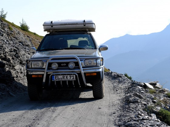 R50 Alpen 2017