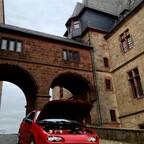Fotoshooting Schloss Marburg