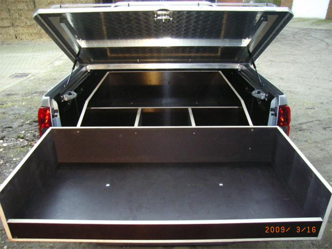 ausziehbarer laderaumboden pickups nissanboard. Black Bedroom Furniture Sets. Home Design Ideas